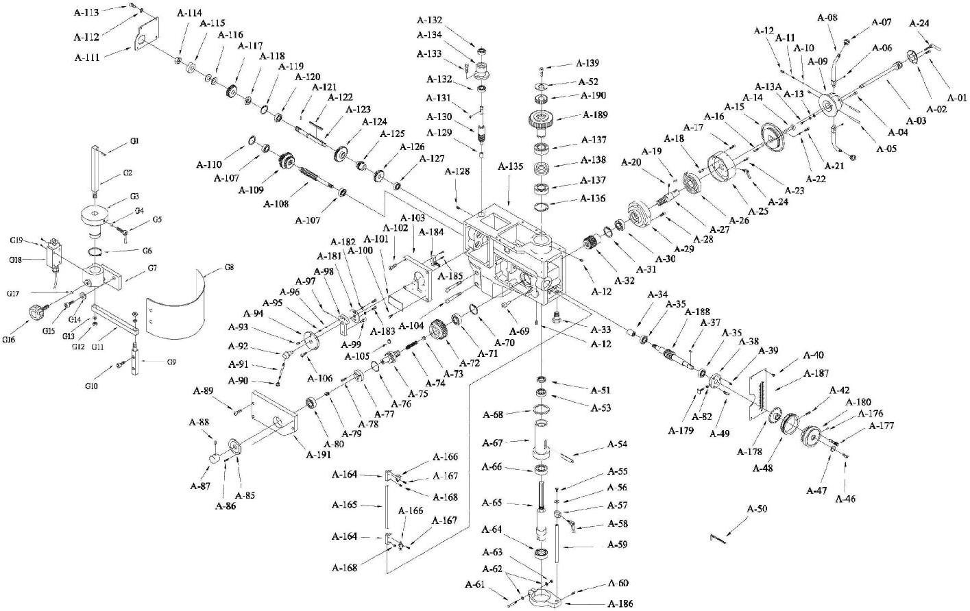 perceuse sur colonne 30 cv da - gamme maintenance - perceuses